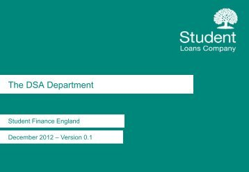DSA Department Stucture 2013 - Practitioners - Student Loans ...