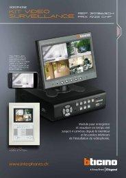 Kit video surveillance - Legrand