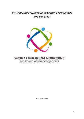 Strategija razvoja Å¡kolskog sporta APV 2013-2017 - Sportski savez ...