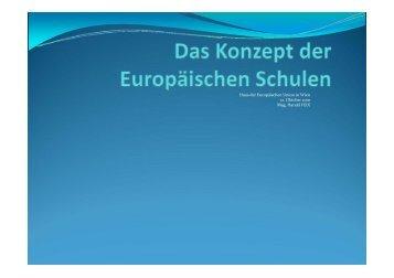 Haus der Europäischen Union in Wien 12. Oktober 2010 Mag ...
