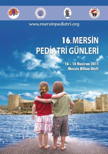 16. Pediatri Günleri Katalog - Mersin Sağlık Müdürlüğü