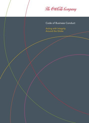 Code of Business Conduct - The Coca-Cola Company