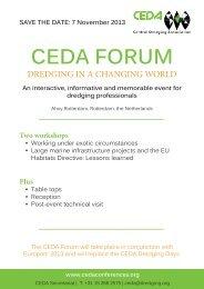 CEDA Forum Flier