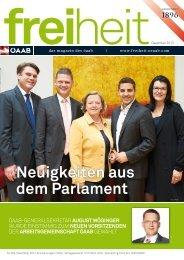 Neuigkeiten aus dem Parlament - ÖAAB