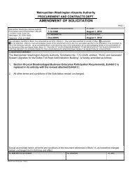 Amendment One - August 7, 2012 - Metropolitan Washington ...