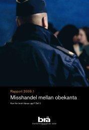 Misshandel mellan obekanta - Brottsförebyggande rådet