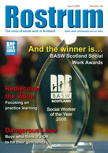 April 2009 - British Association of Social Workers