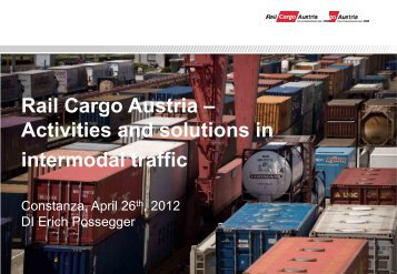 Rail Cargo Austria - Club Feroviar Conferences