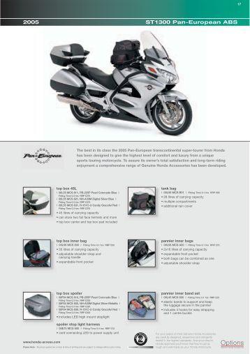 ST1300 Pan-European ABS - Doble Motorcycles
