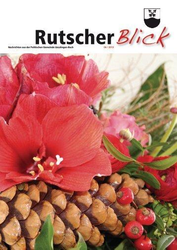 Rutscher Blick Dezember 2013 [PDF, 6.00 MB]
