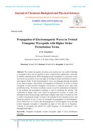 Propagation of Electromagnetic Waves in Twisted Triangular ...