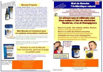 depliant manuka detail 2 - Site des Marques