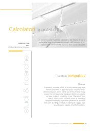 Calcolatori quantistici - Enea