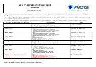 ACG ENGLISH LANGUAGE TEST Auckland - The Academic ...
