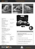 Precision Speed Saw - batavia.eu - Page 2