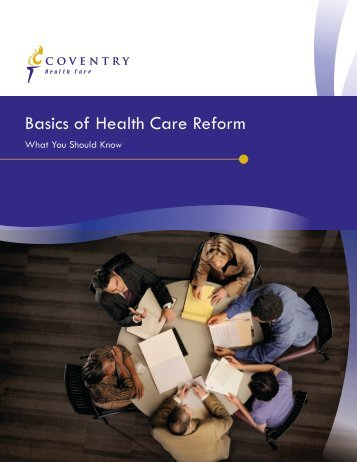 Basics of Health Care Reform - MetraComp Network