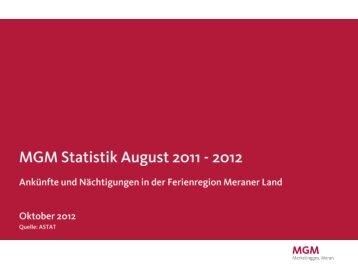 August 2012(PDF - 408 KB) - MGM