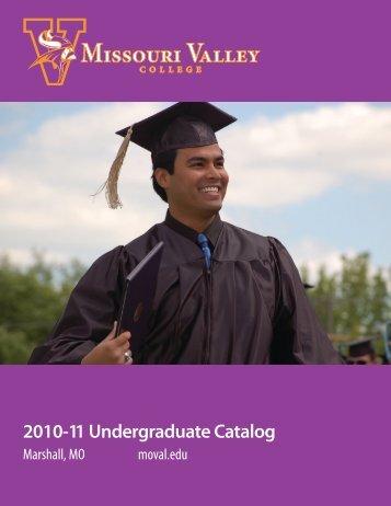 education major - Missouri Valley College