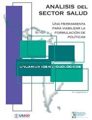 Analisis del Sector Salud - Herramienta para viabilizar la - Centro de ...