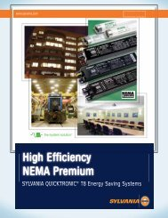 High Efficiency NEMA Premium - Osram Sylvania