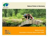 1. Nature Parks in Germany