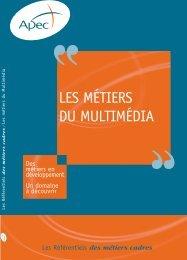 Référentiel des métiers du multimédia - Informetiers