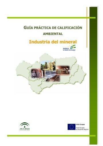 Industria del mineral - Federación Andaluza de Municipios y ...