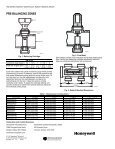 Tech Sheet for Honeywell RM-Series Radiant Manifolds - Page 2