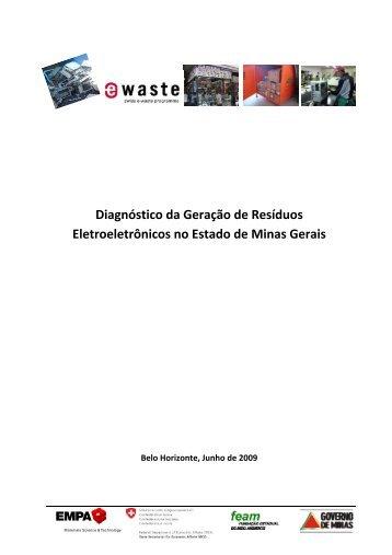 Diagnóstico da Geração de Resíduos Eletroeletrônicos no Estado ...