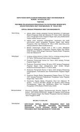 keputusan sekretaris utama badan pengawas obat ... - Badan POM