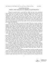 The Military in Contemporary Middle East Politics ... - GLORIA Center