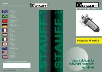 Return Line Filters (RF) German - Stauff