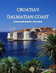 CROATIA'S DALMATIAN COAST Cultural ... - Classic Journeys