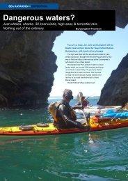 Dangerous waters? - New Zealand Kayak Magazine