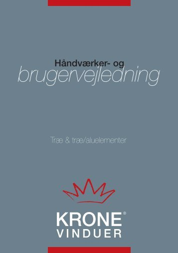 Vinduer_-_Brugervejledning_-_Krone - Domea