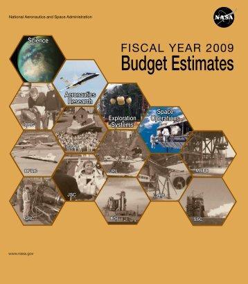 Budget Estimates - Nasa