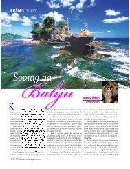 Åoping na Baliju - Magazin