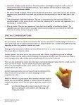 Nutrition for Seniors workbook - CaregiverStress.com - Page 7