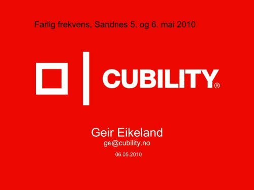 Geir Eikeland - Safe