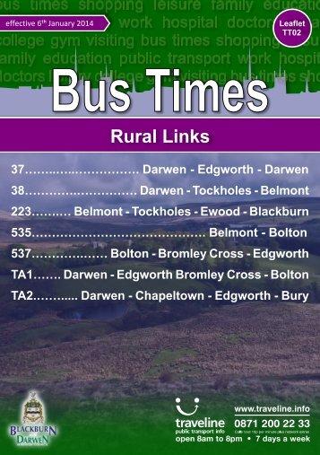 Rural Services - Blackburn with Darwen Borough Council
