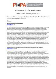 paper titles and abstracts - The Institute For Fiscal Studies