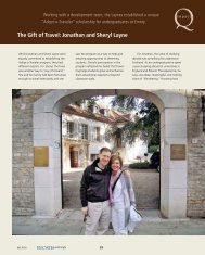 The Gift of Travel: Jonathan and Sheryl Layne - Emory College