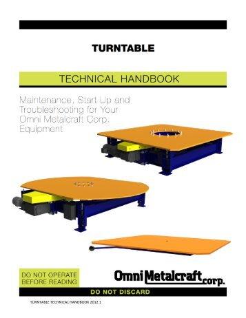 Turntable Technical Handbook.pdf - Omni Metalcraft Corp.
