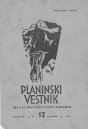 December - Planinski Vestnik