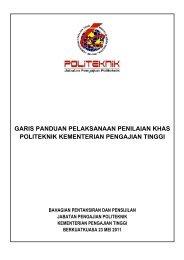 Garis Panduan Pelaksanaan Penilaian Khas - Jabatan Pengajian ...