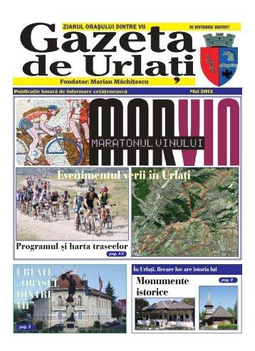 Gazeta de Urlați - editia mai 2013 - Oraşul Urlaţi