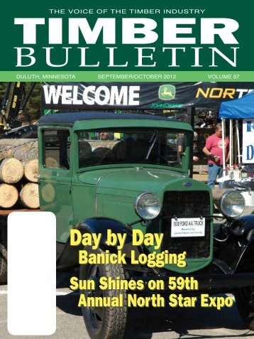 The Timber Bulletin - Minnesota Forest Industries