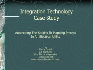 Integration Technology Case Study - MultiSpeak