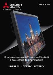 LCD display brochure