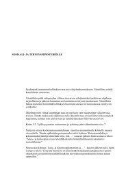 hallituksen tasa-arvo-ohjelmaluonnoksesta - Väestöliitto